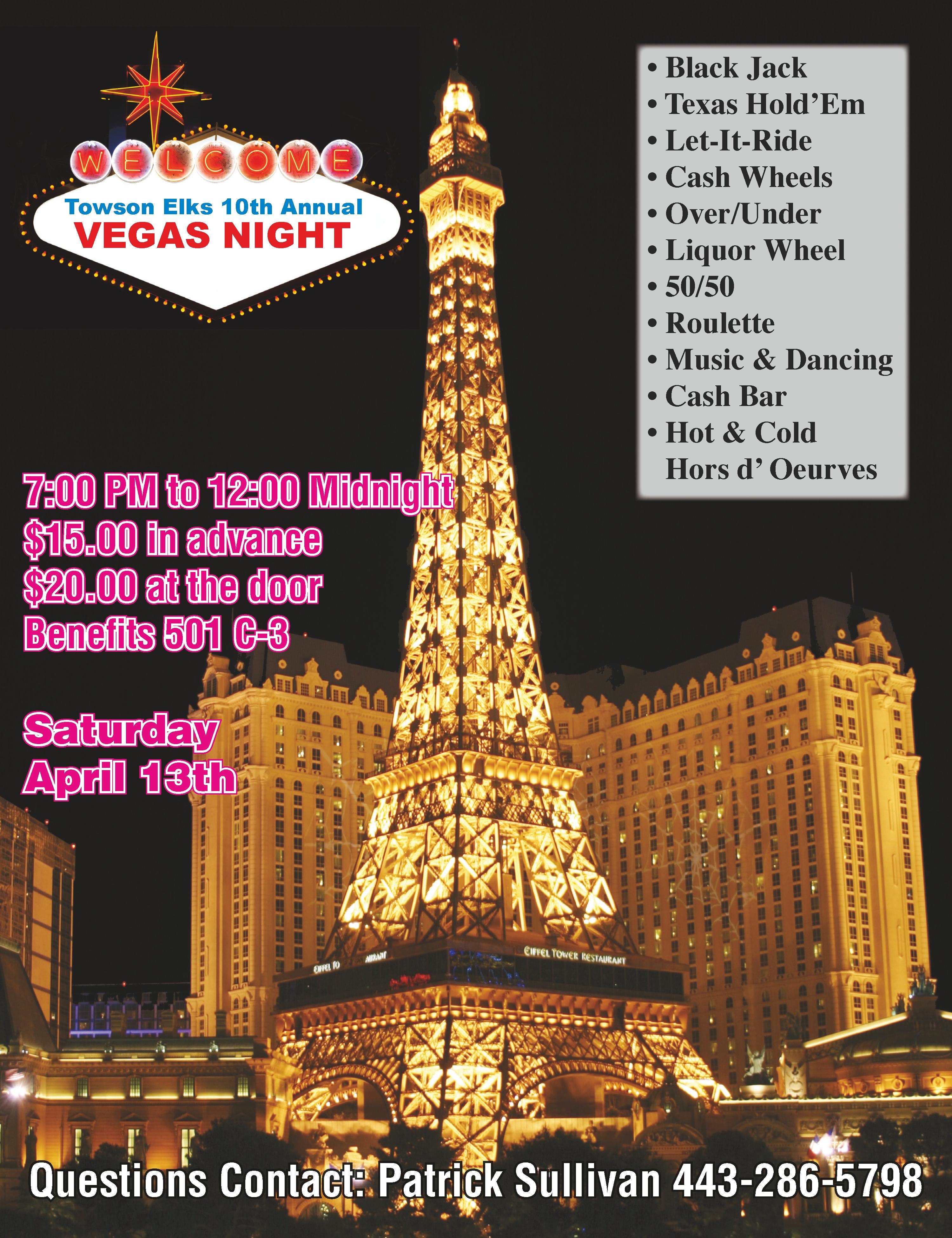 469 Vegas Poster 20 x 26-2018