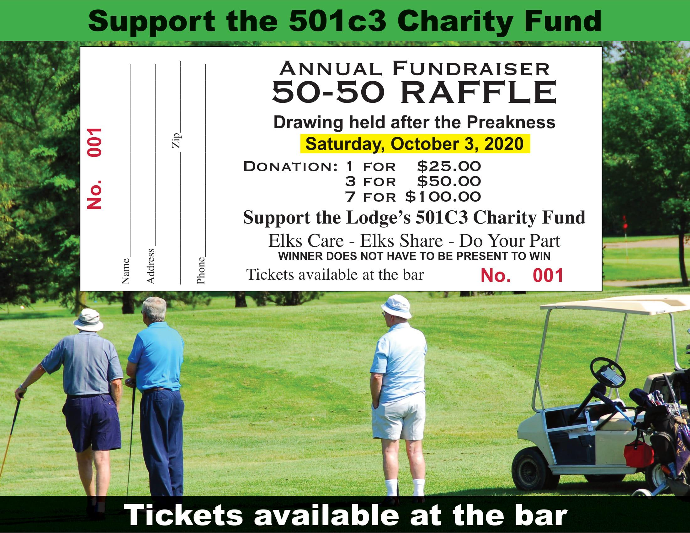 Golf Raffle Flyer-1