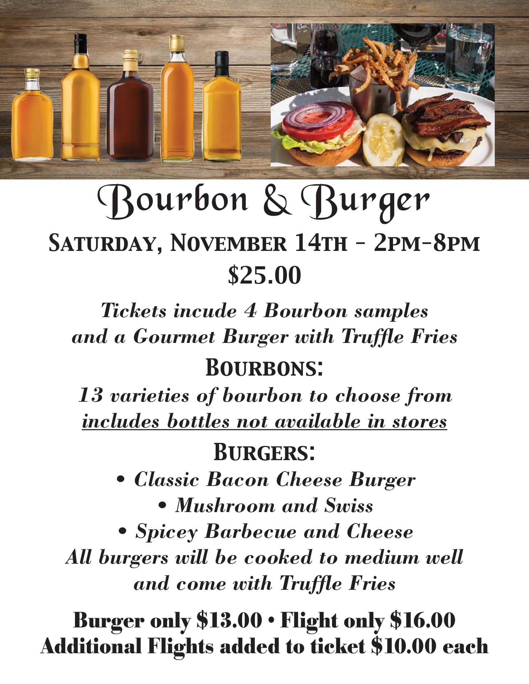 469 Elks Bourbon and Burger flyer-1