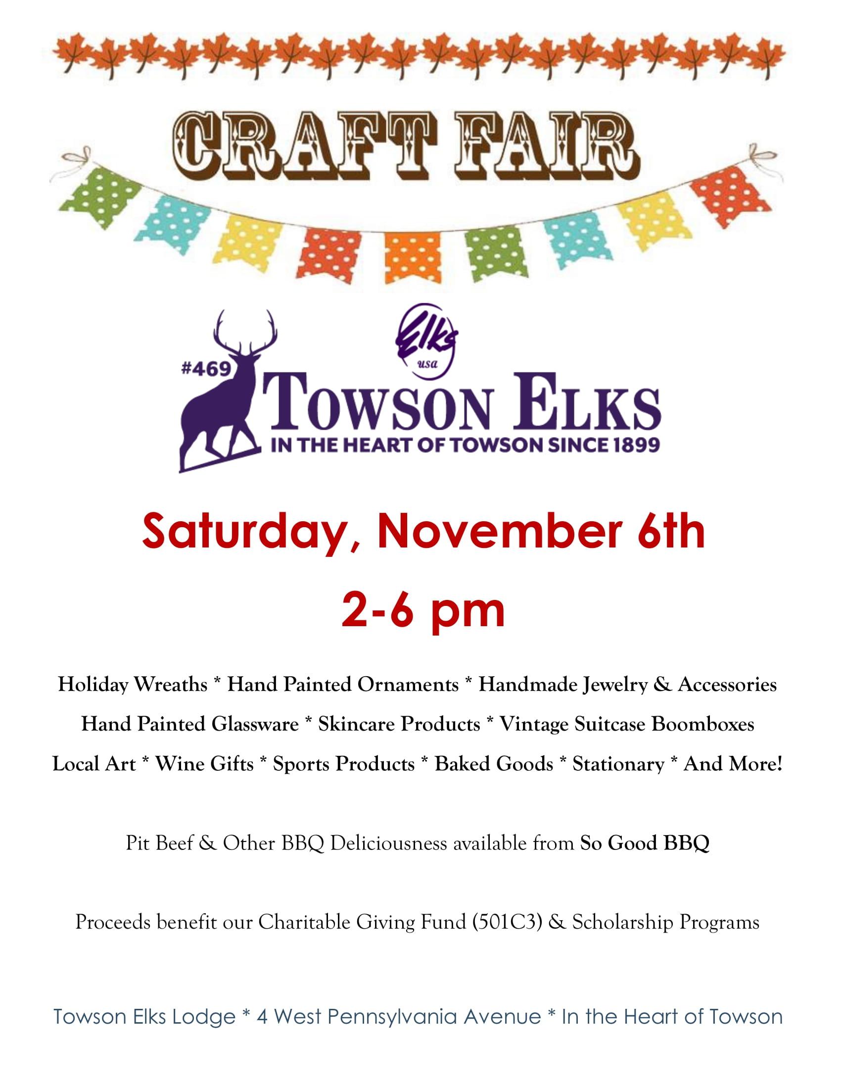 Elks Craft Fair 2021-1